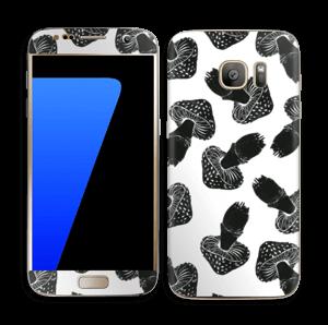 Svarte sopper Skin Galaxy S7