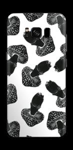 Svarte sopper Skin Galaxy S8