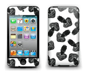 Svarte sopper Skin IPod Touch 4th Gen