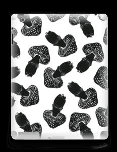 Champignons noirs Skin IPad 4/3/2