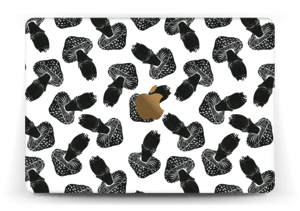 Svarte sopper Skin MacBook 12""