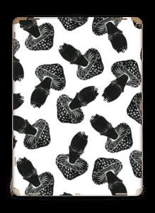 Black Mushrooms Skin IPad Pro 12.9