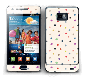 Colorful Dots Skin Galaxy S2