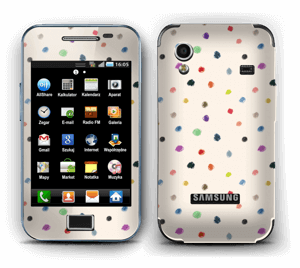 Colorful Dots Skin Galaxy Ace