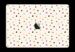 """Fargeglade prikker Skin MacBook Pro 13"""" 2016-"""