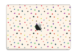 "Farverige prikker Skin MacBook Pro 13"" 2016-"