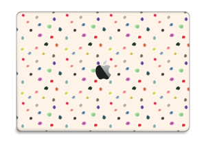 """Fargeglade prikker Skin MacBook Pro 15"""" 2016-"""