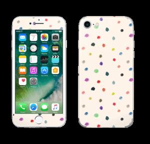 Fargeglade prikker Skin IPhone 7