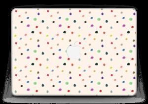 "Fargeglade prikker Skin MacBook Pro Retina 13"" 2015"