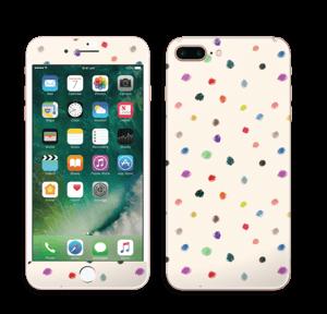 Fargeglade prikker Skin IPhone 7 Plus