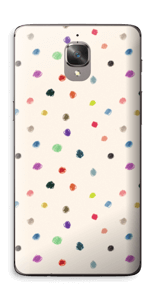 Fargeglade prikker Skin OnePlus 3T
