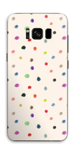 Fargeglade prikker Skin Galaxy S8