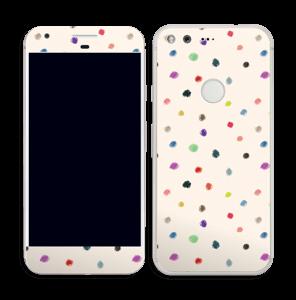 Farverige prikker Skin Pixel