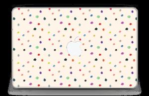 """Fargeglade prikker Skin MacBook Air 11"""""""
