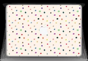 "Farverige prikker Skin MacBook Pro 13"" -2015"