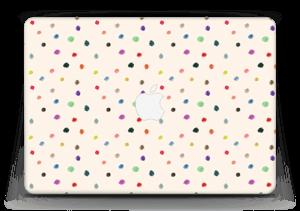 """Fargeglade prikker Skin MacBook Air 13"""""""