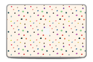 "Colorful Dots Skin MacBook Pro 17"" -2015"