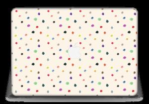 "Colorful Dots Skin MacBook Pro Retina 15"" 2015"