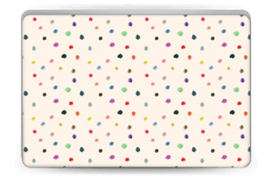 Colorful Dots Skin Laptop 15.6