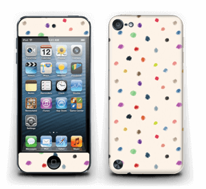Fargeglade prikker Skin IPod Touch 5th Gen
