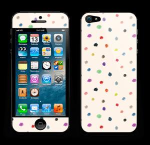 Fargeglade prikker Skin IPhone 5