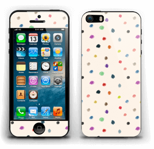 Colorful Dots Skin IPhone 5s