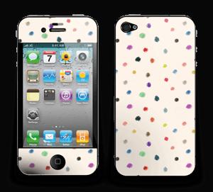 Fargeglade prikker Skin IPhone 4/4s