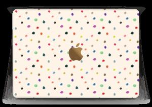 """Farverige prikker Skin MacBook 12"""""""