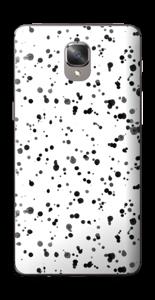 Svart fargesprut Skin OnePlus 3