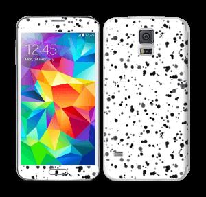Svart fargesprut Skin Galaxy S5