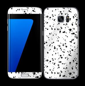 Svart fargesprut Skin Galaxy S7 Edge