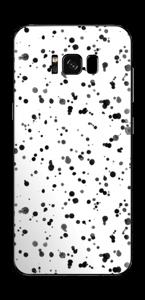 Svart fargesprut Skin Galaxy S8 Plus
