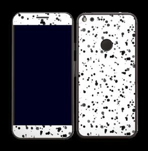 Svart fargesprut Skin Pixel XL