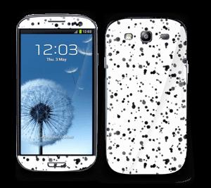 Sorte pletter Skin Galaxy S3