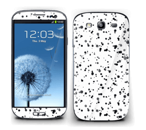 Svart fargesprut Skin Galaxy S3