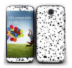 Svart fargesprut Skin Galaxy S4