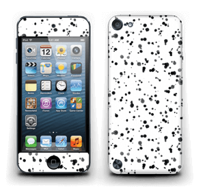 Svart fargesprut Skin IPod Touch 5th Gen