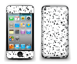 Svart fargesprut Skin IPod Touch 4th Gen