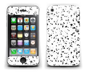 Svart fargesprut Skin IPhone 3G/3GS