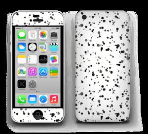Svart fargesprut Skin IPhone 5c