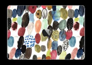 "Dots watercolor  Skin MacBook Pro 13"" 2016-"