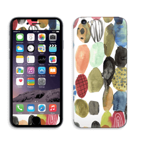 Dots watercolor  Skin IPhone 6/6s
