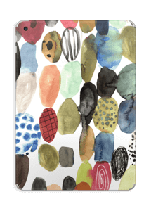 Aquarel stippen Skin IPad 2017