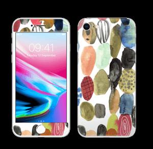 Prikker i vandfarver Skin IPhone 8