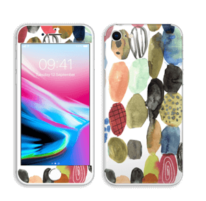 Prikker i vannfarge Skin IPhone 8