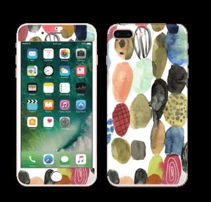 Prikker i vandfarver Skin IPhone 7 Plus