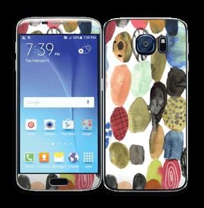 Prikker i vandfarver Skin Galaxy S6