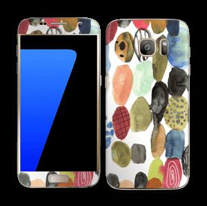 Prikker i vandfarver Skin Galaxy S7