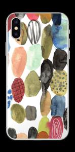 Couleurs d'eau Skin IPhone X