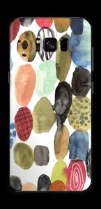 Prikker i vannfarge Skin Galaxy S8 Plus